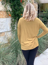 Load image into Gallery viewer, Cowl Neck Split Front Sweater