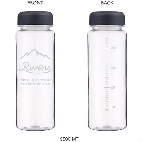 Reuse bottle S500-logo