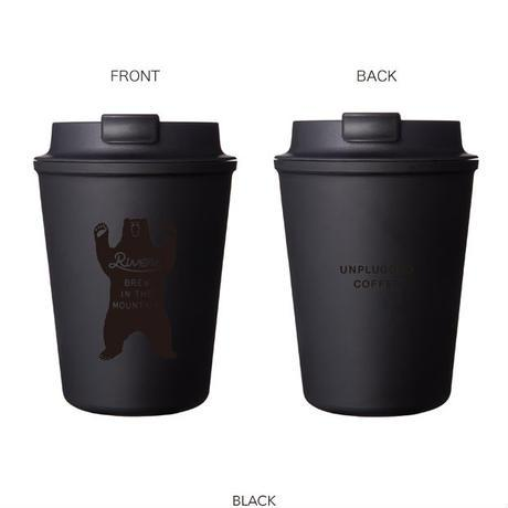 Wallmug Sleek Bear-Black