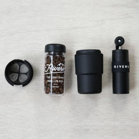 Coffee Grinder grit-Black - riversph