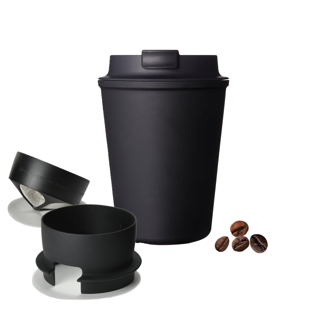 Wallmug Sleek + Micro Coffee Dripper Bundle