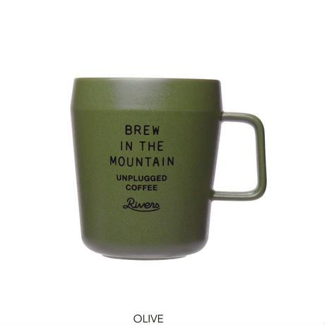 GENERAL MUG UNPLUGGED-olive