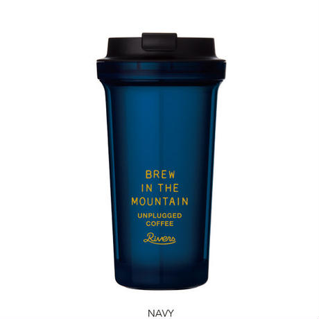 Wallmug Bearl Unplugged-navy - riversph