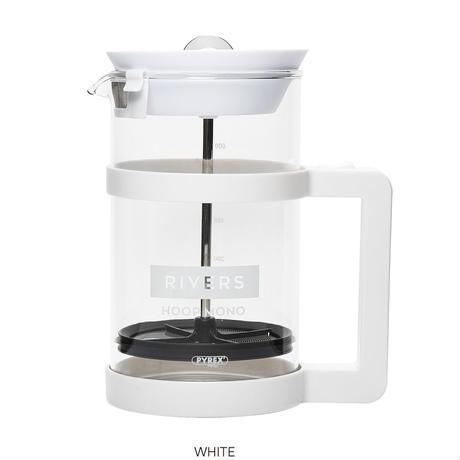 COFFEE PRESS HOOP MONO-White - riversph