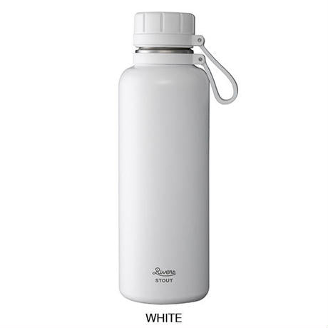 Vacuum Flask Stout 1000-White