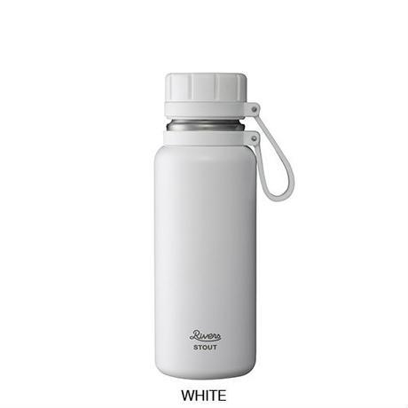 Vacuum Flask Stout 500-White
