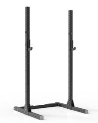 black powder coated high quality squat stand