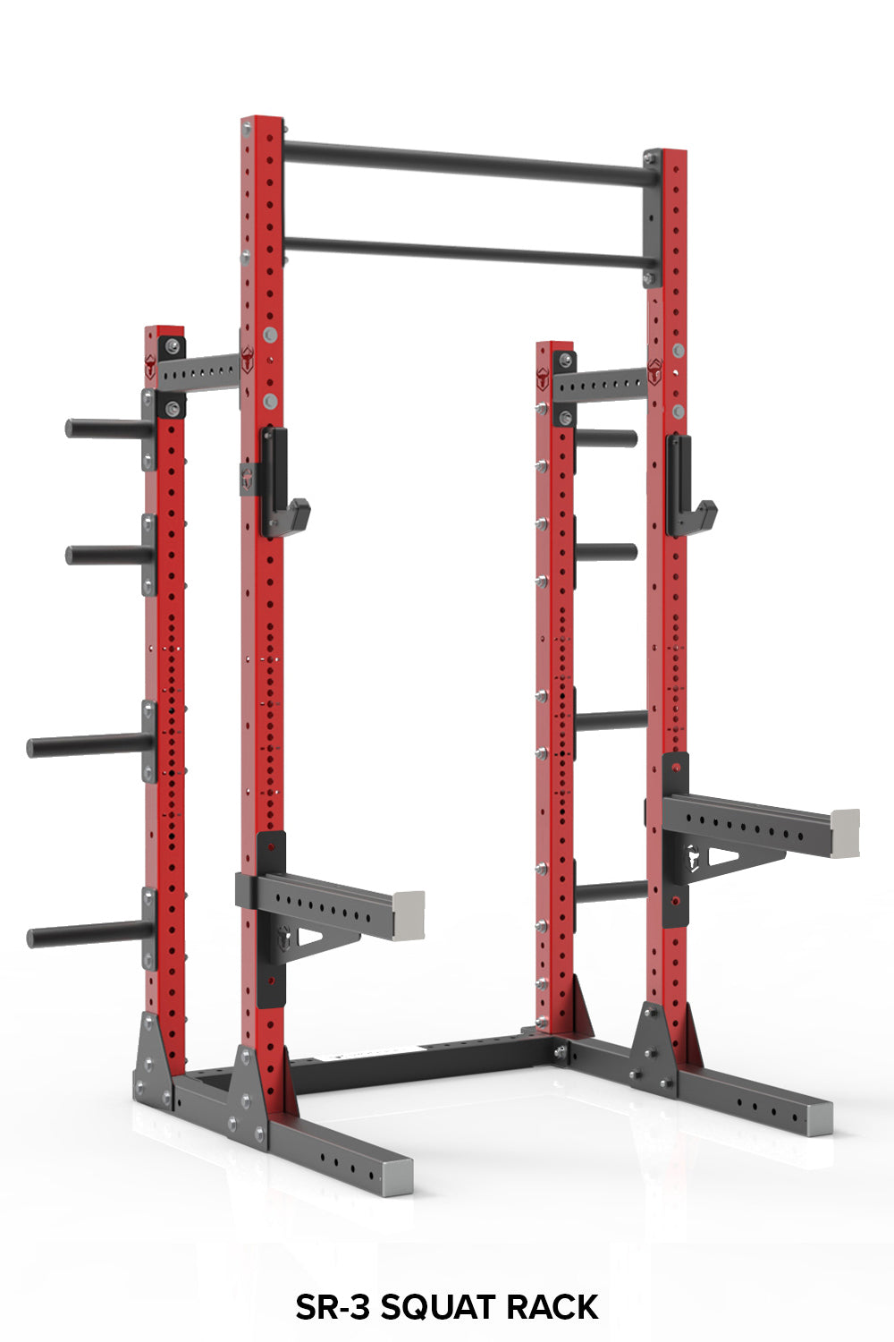 Squat Rack with Weights Storage