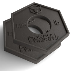 1.25 lb fractional plates barbell