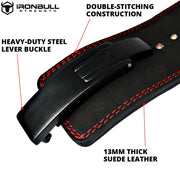 13 millimeters powerlifting lever belt features