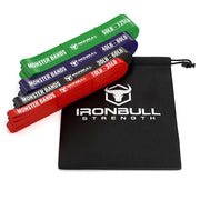 4-bands-set iron bull strength pull up bands