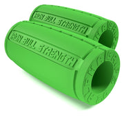 green Alpha grips 2.0 inches Iron Bull Strength
