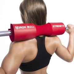red iron bull strength squat pad back