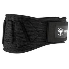 black iron bull strength 6 inches nylon weightlifting belt