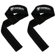 black lifting support straps for powerlifting