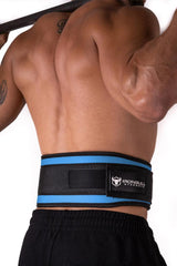 cyan back support 5 inches weight lifting nylon belt