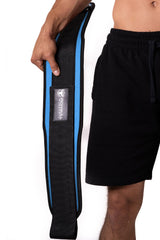 cyan weight lifting belt squat assist