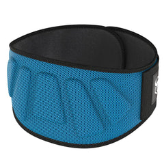 cyan iron bull strength 6 inches nylon powerlifting belt