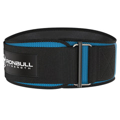 cyan iron bull strength 6 inches weightlifting belt
