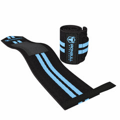 black-sky-blue women weight lifting wrist wraps