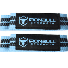 black-sky-blue women's weight lifting straps