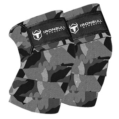 camo-white knee wraps for pain free squats