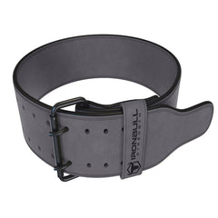 gray 10mm suede powerlifting belt
