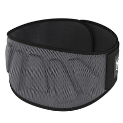 gray iron bull strength 6 inches nylon powerlifting belt