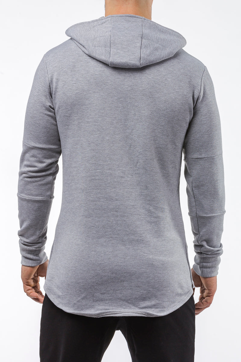 gray iron bull strength high quality soft cotton hoodie