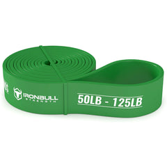 green pull up assist resistance band