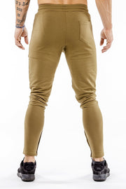 khaki iron bull strength joggers nice butt