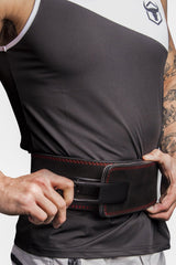 iron bull strength lever weight lifting belt fit