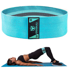 medium-mint hip circle resistance band hip thrust