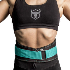 black-mint iron bull strength women weight lifting belt