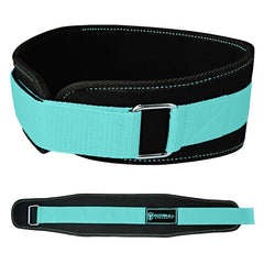 black-mint women weight lifting belt back support for squat and deadlift