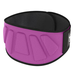 pink iron bull strength 6 inches nylon powerlifting belt