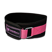 black-pink women weight lifting belt iron bull strength