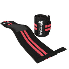 black-red wrist protection wrap iron bull strength