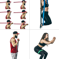 all monster resistance bands workout