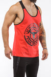 red-black workout stringer unleash series front side