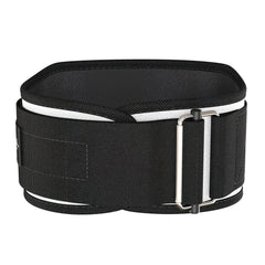 white five inches nylon belt for deadlift or squat