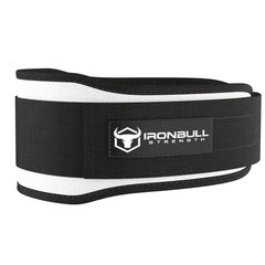 white 5 inches lifting assist belt