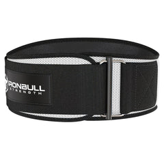 white iron bull strength 6 inches weightlifting belt