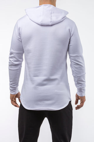 white iron bull strength high quality soft cotton hoodie