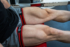 wide blood flow restriction bands quadriceps workout