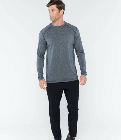 Carrollton Long Sleeve Fitness T-Shirt - Fitted