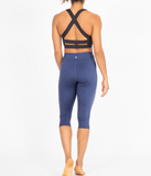 Wonder Luxe Performance Crop - Indigo - FittedFW