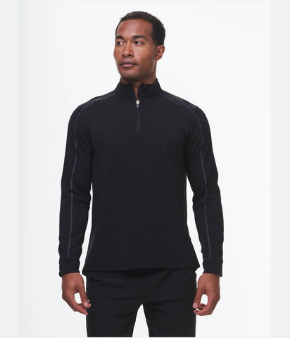 Carrollton Lightweight Quarter Zip - Fitted
