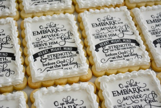 How to apply an edible image to a royal icing sugar cookie