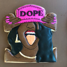 Load image into Gallery viewer, Dope Girl Melanin Collection Custom Sugar Cookies